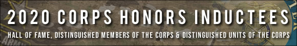2020 Corps Honors Inductees Banner