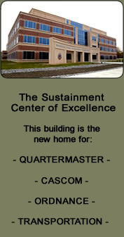 Sustainment Center of Excellence Building