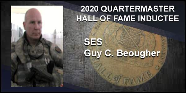 2020 Quartermaster Hall of Fame Inductee SES Guy C. Beougher
