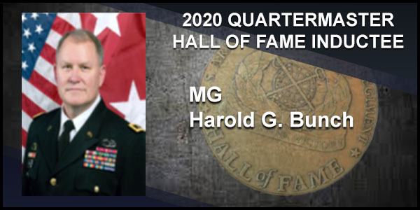 2020 Quartermaster Hall of Fame Inductee MG Harold G. Bunch