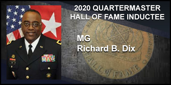 2020 Quartermaster Hall of Fame Inductee BG Richard B. Dix