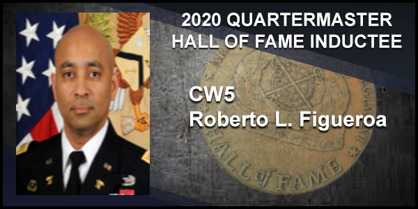 2020 Quartermaster Hall of Fame Inductee CW5 Roberto L. Figueroa
