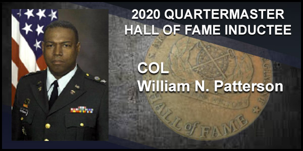 2020 Quartermaster Hall of Fame Inductee COL William N. Patterson