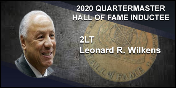 2020 Quartermaster Hall of Fame Inductee 2LT Leonard R. Wilkens