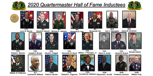 2020 Quartermaster Hall of Fame Inductees