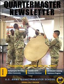Quartermaster Connection - Newsletter - Current Issue