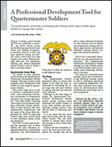 RCSM Quartermaster Connection Monthly